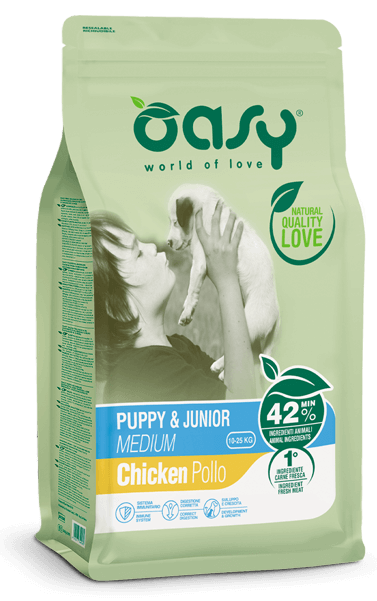 LIFESTAGE • Puppy & Junior Medium Pollo