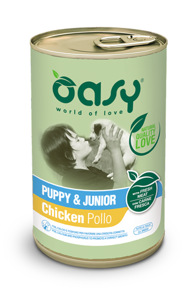 LIFESTAGE • Paté Puppy & Junior Pollo