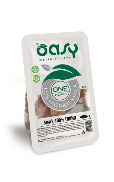 SNACK NATURALE • One Protein 100% Tonno