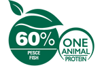 60% Pesce - One Animal Protein