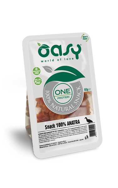 SNACK NATURALE • One Protein 100% Anatra